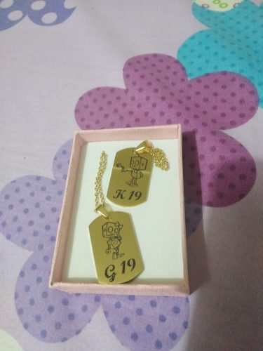 PENDANT MEDAL GOLD photo review